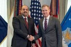 دیدار سرپرست وزارت دفاع آمریکا و وزیر دفاع قطر با موضوع افغانستان