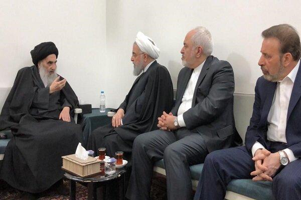 آیت الله سیستانی از دوستان عراق برای پیروزی بر تروریسم تقدیرکرد