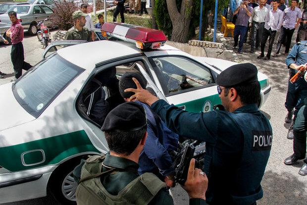 انجام ۳۰۳ هزار عملیات پلیسی در کرمانشاه/دستگیری ۲۸۰ اراذل و اوباش