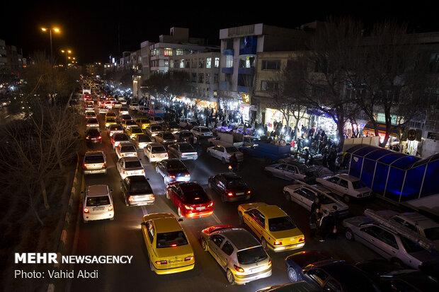 تکاپو در بازار دستفروشان تبریز