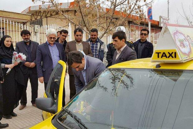 اجرای طرح تاکسی توریست در نهاوند آغاز شد