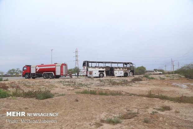 انفجار خط لوله نفت اهواز به رامهرمز