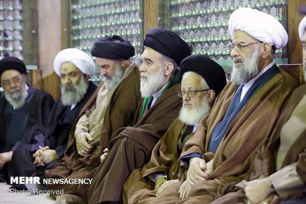 تجدید میثاق اعضای مجلس خبرگان با آرمان های امام (ره)