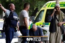 فیلمی از لحظه هولناک قتل عام نمازگزاران نیوزیلندی