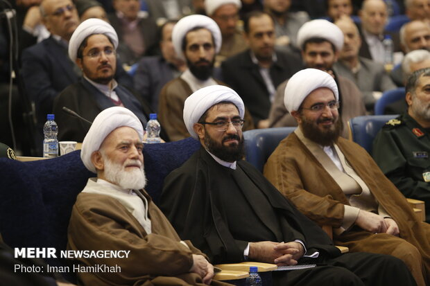 Introduction ceremony of Leader's rep. in Hamedan province
