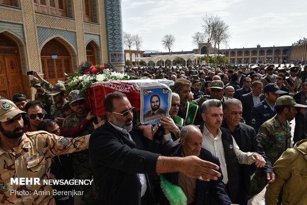 تشییع مرحوم اکبر شریعت در شیراز