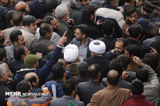 استقبال مردمی از امام جمعه همدان
