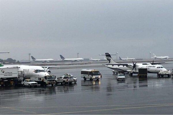 تغییر ساعت برخی پروازها به دلیل شرایط جوی/قبل از حرکت تماس بگیرید
