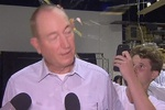 VIDEO: Teenager cracks egg on Australian senator's head