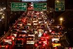 ترافیک در آزادراه تهران-قم سنگین است