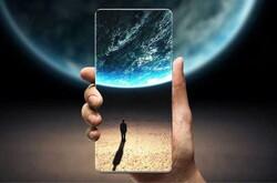 موبایل جدید سامسونگ با نمایشگر تمام صفحه واقعی