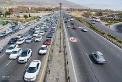 تردد بالای وسایل نقلیه در چند محور ارتباطی ایلام