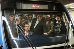 تدشين الخط السابع من مترو أنفاق طهران / صور