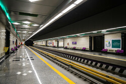 وضعیت بهره برداری از ایستگاه بسیج در خط ۷ مترو