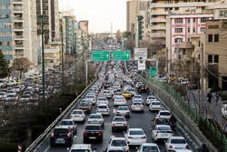 آخرین وضعیت ترافیکی معابر بزرگراهی پایتخت در دهمین روز مهر