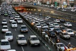ترافیک نیمه سنگین بر جادههای کرمانشاه حاکم است