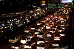 ترافیک نیمه سنگین در ورودی های غربی تهران