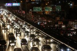 ترافیک پرحجم و روان در اکثر جاده های کشور