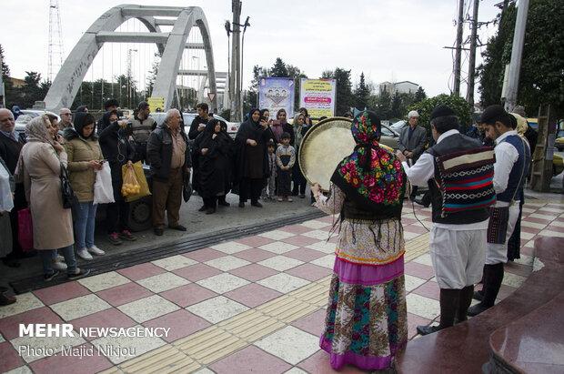 Nevruz Bayramı'nı karşılama töreni