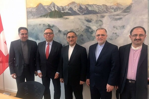 Iran, Switzerland confer on expansion of mutual ties