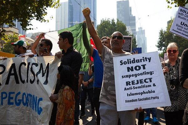 هزاران نفر در ملبورن استرالیا اسلامهراسی را محکوم کردند