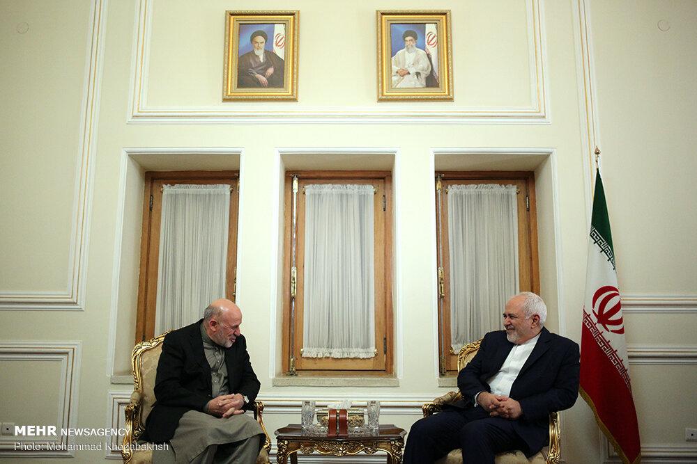 دیدار نماینده ویژه رئیس جمهور افغانستان با وزیر امور خارجه