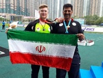 Iran gains gold in shot put at Asian Youth Athletics C'ships