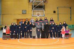 تیم بسکتبال بانوان شهرداری قزوین در لیگ یک سوم شد