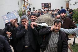 مرحوم حبیب کاوش کی تشییع جنازہ