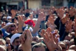 پیکر ۳ شهید صنایع دریایی شهید درویشی در بندرعباس تشییع شدند