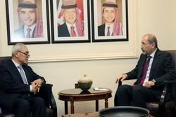 نماینده چین در سوریه با وزیر خارجه اردن دیدار کرد