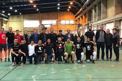 تست آمادگی جسمانی اعضای تیم ملی اینلاین هاکی ایران