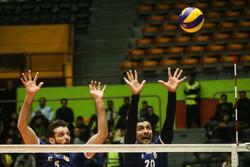 نماینده والیبال ایران در گروه B مسابقات قرار گرفت