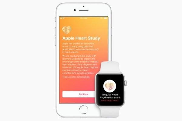 ساعت هوشمند اپل ضربان غیرطبیعی قلب را تشخیص می دهد
