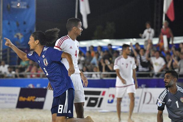 ژاپن قهرمان فوتبال ساحلی آسیا شد