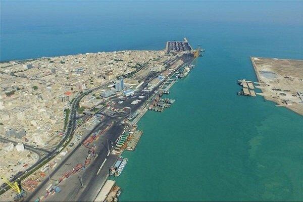 Road min. inaugurates 50,000-ton container dock on Negin Island