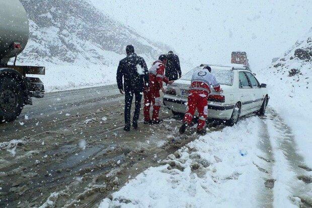 آماده باش هلال احمر استان تهران/۱۲حادثه در کوهستان امدادرسانی شد
