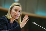 "Mogherini says EU's trade mechanism for Iran ""ready to be operational"""