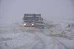 برف محورهای کالپوش را مسدود کرد/ امدادرسانی به در راه ماندگان