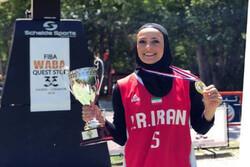 بانوی بسکتبالیست قزوینی در اردوی تیم ملی