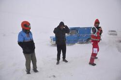 جزئیات سیل، برف و کولاک در مازندران و گلستان/ ریزش کوه برای مسافران حادثه آفرید
