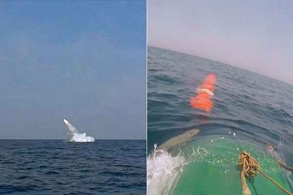 Ghadir submarine successfully launches cruise missile