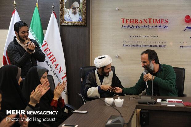 MNA, Tehran Times staff celebrate Nowruz