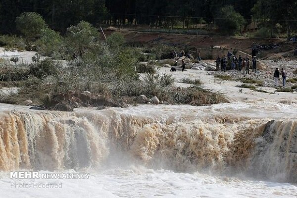 احتمال طغیان رودخانههای استان کرمانشاه در پی بارش باران