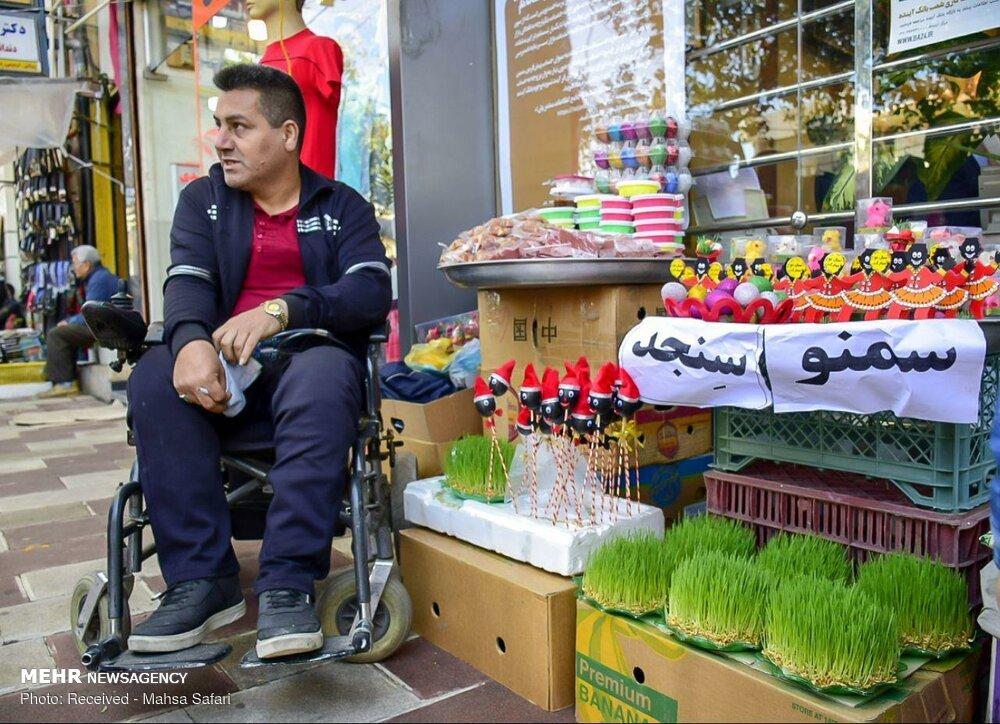 بازار گرگان در آستانه عید /تصاویر