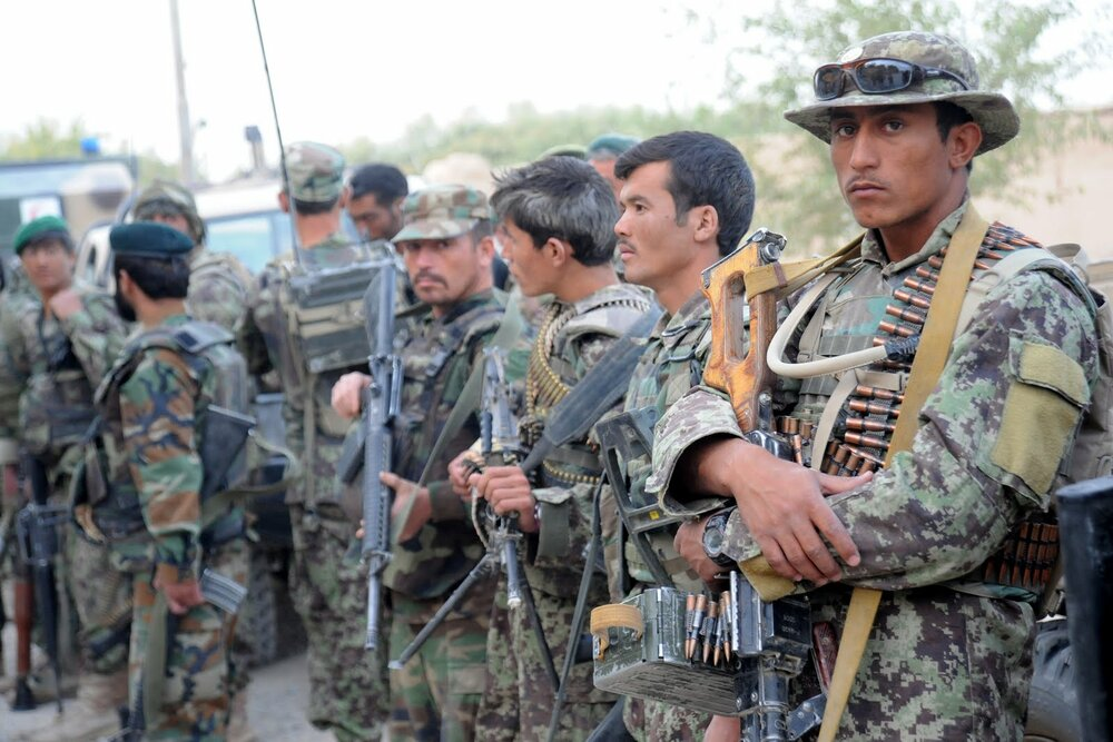 Taliban capture 58 Afghan security forces