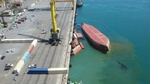 VIDEO: Early footage of capsized cargo ship in S Iran