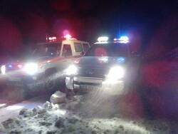 بارش برف در دماوند/ستاد مدیریت بحران به حالت آماده باش درآمد