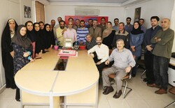 Staff at Tehran Times celebrate New Year