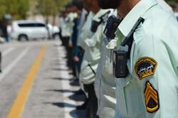 پلیس هرمزگان به لباس های دوربین دار مجهز شد